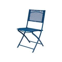 Scaun albastru, pliabil • Saba