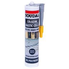 Adeziv tabla zincata, gri, 290 ml •  Soudal Colozinc