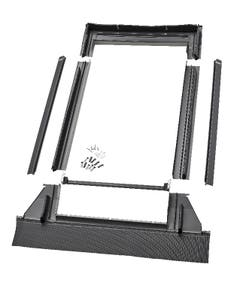 Rama etansare, fereastra mansarda, gri, 66 x 118 cm • Velux EDW