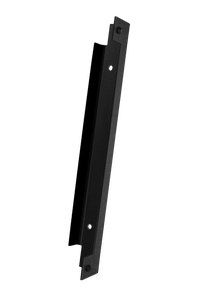 Accesoriu prindere, negru, 23.5 x 3.5 x 3.5 cm • Polbram
