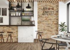 Placare murala interior/exterior Kamien Alivio Miele, 30 x 7.4 x 0.9 cm • Cerrad