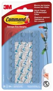 17026CLR-CIS Carlig decorativ transparent Command