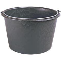 Galeata mortar, 12 l, negru