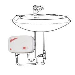 Incalzitor instant de apa Geyser, chiuveta, In-line, 5000 W