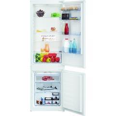 Combina frigorifica, alba, A+, 286kWh, 540 x 1775 x 545 mm • Beko_ICQFD173