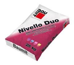 Sapa autonivelanta - Nivello Duo, 25 kg