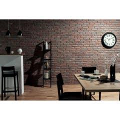 Placare murala, ciment, rosu si gri, 230 mm X 14 mm X 400 mm, 1 mp/ cutie • Chester
