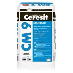 Adeziv pentru gresie si faianta Henkel Ceresit CM9, interior, 25 kg