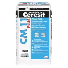 Adeziv pentru gresie si faianta Henkel Ceresit CM11, interior-exterior, 25 kg, culoare gri