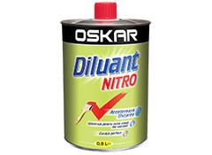 Diluant Nitro Oskar, interior si exterior, 0.9 l