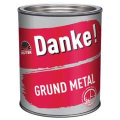 Grund anticoroziv DANKE, rosu oxid, 2,5 L