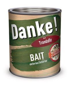 Bait pentru interior si exterior Danke, 0.75 l, culoare trandafir Danke