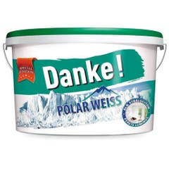 Vopsea lavabila pentru interior Danke, 17.5 l, culoare alb