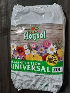 Pamant flori universal 20L • Florisol Product