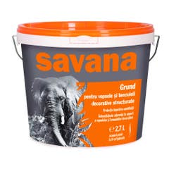 Grund pentru tencuiala Savana, 18 L, transparent