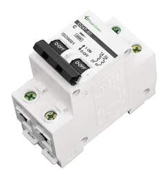 Disjunctor bipolar 50A Total Green, 6 kA, 220 - 240 V, 50 - 60 hz