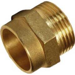 Racord filet exterior 15 mm 3/4 aliaj bronz