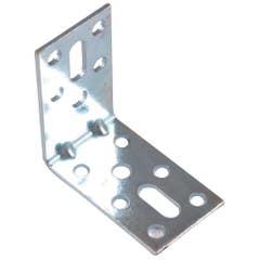 Coltar mobila tip L, 100 x 100 x 30 mm, zincat alb