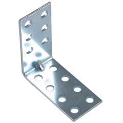 Coltar mobila tip L, 30 x 30 x 30 mm, zincat alb