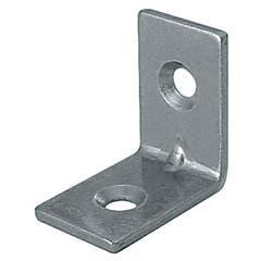 Coltar tip V, 50 x 50 x 10 x 16 mm, zincat alb