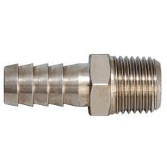 Adaptor din alama pentru furtun, diametru 6 mm, racord 1/4 mama