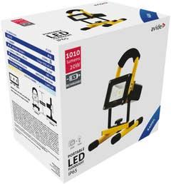 Proiecctor LED 20W 2X LI ION 7.4V • Avide