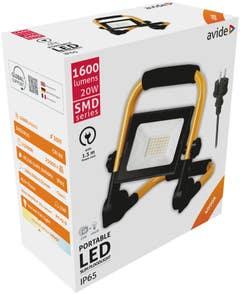 Proiector LED 20W SUP 1.5M 168X234 • Avide
