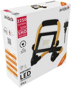 Proiector LED 30W SUP 1.5M 211X271 • Avide