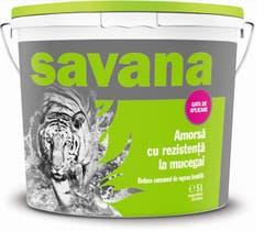 Amorsa Savana pentru perete, interior si exterior, 5 l, culoare alb