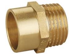 Adaptor alama cupru, 18 mm, racord 1/2 I, filet exterior
