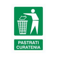 Indicator Pastrati Curatenia 20X30cm • Retail Solutions