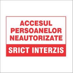 Accesul Interzis Pers. Neautoriz • Retail Solutions
