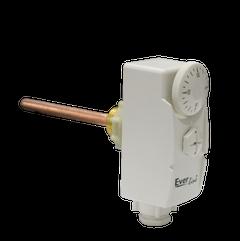 Termostat reglabil imersie, plastic, 38 x 105 x 56 mm, IP40, racord 1/2