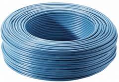 Cablu FY, albastru, 1 x 1.5 mmp, 5 m
