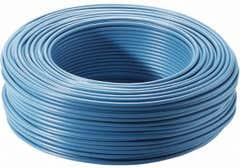 Cablu FY, albastru, 1 x 1.5 mmp, 10 m