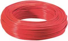 Cablu FY, rosu, 1 x 2.5 mmp, 10 m
