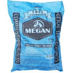Brichete cocs petrolier, sac 20 kg - Megan