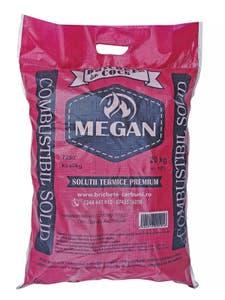 Brichete de foc tip carbune din cocs Megan, 20 kg