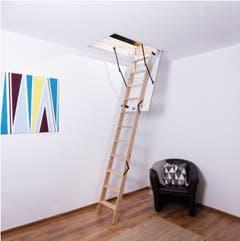 Scara modulara de mansarda, 110 x 60 cm, sarcina maxima 160 kg