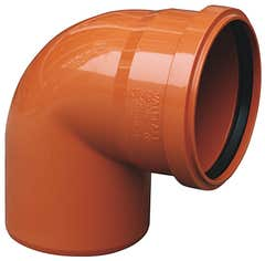 Cot canalizare PVC, unghi 87 110 mm