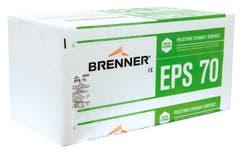 Placa Polistiren expandat Brenner EPS 70, 1 m x 0.5 m x 100 mm, 2.5 mp