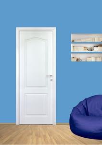 Usa interior reversibila, alb, plină, HDF, 78 x 205 cm • Anatolia