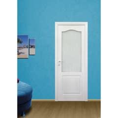 Usa interior reversibila, alb, geam, HDF, 88 x 205 cm • Anatolia