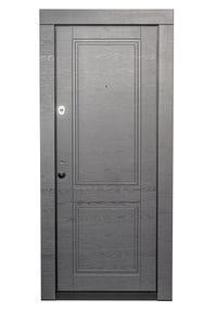 Usa exterior, metalica, dreapta, antracit/alb, 86 x 202 cm