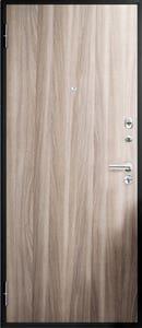 Usa exterior metalica, crem, stanga, plina, 90 x 205 cm • Bella Casa M 92