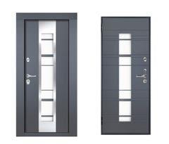 Usa exterior cu deschidere dreapta, 206 x 89 cm • Steel Door M65