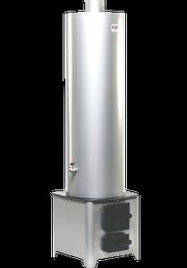 Ansamblu boiler cu focar, usi tabla, 70L, 3 bar, 65*C, 4.5 kW