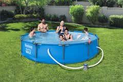 Set piscina Bestway Steel Pro Max, 36.6 x 0.76 m