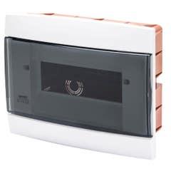 Tablou ingropat 8+1/2 module IP40 alb, GEWISS