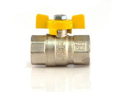 Robinet gaz fluture, racord 1/2, MM • Itap